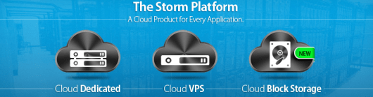 The Storm platform services by LiquidWeb